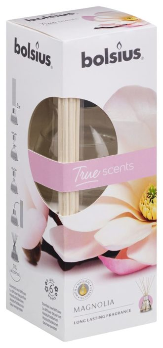 Geurstokjes 45ml True Scents Magnolia