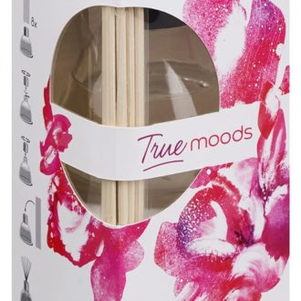 Geurstokjes 45ml True Moods Pure Romance