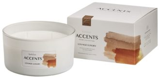 Bolsius Accents scented glass multiwick 75/137 Lounge Luxury