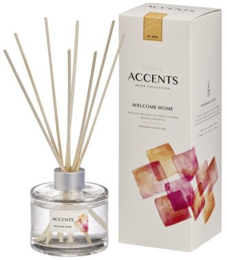 Bolsius Accents Reed Diffuser 100ml Welcome Home