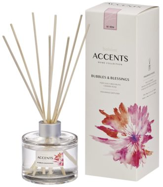Bolsius Accents Reed Diffuser 100ml Bubbles & Blessings