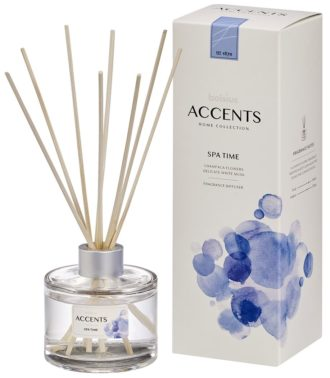 Bolsius Accents Reed Diffuser 100ml Spa Time