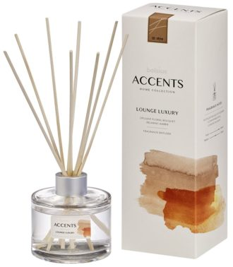 Bolsius Accents Reed Diffuser 100ml Lounge Luxury