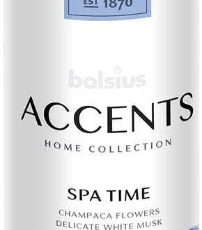 Bolsius Accents Reed Diffuser Refill 200ml Spa Time