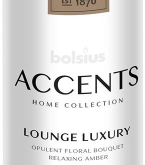 Bolsius Accents Reed Diffuser Refill 200ml Lounge Luxury