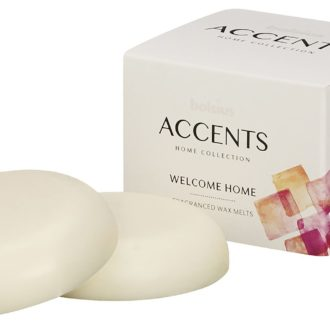 Bolsius Accents Waxmelts Welcome Home